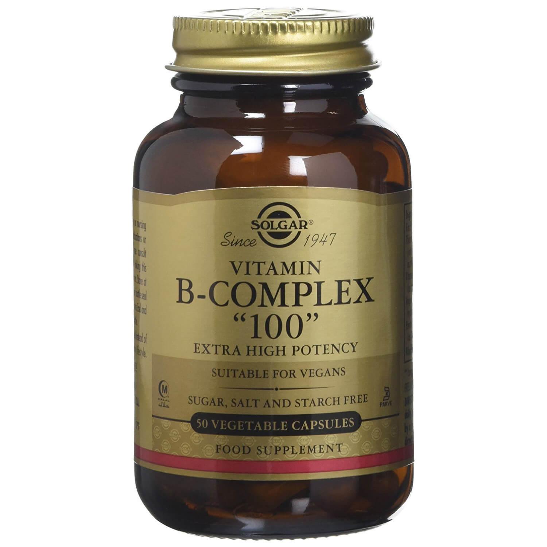 Solgar Formula B- Complex 100mg veg.caps – 50 veg.caps